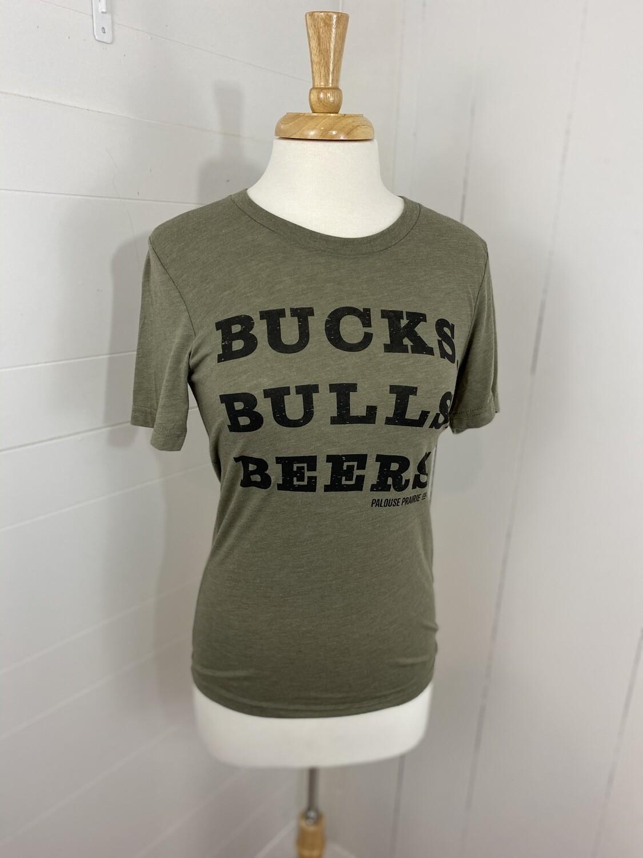 Bucks & Bulls Tee