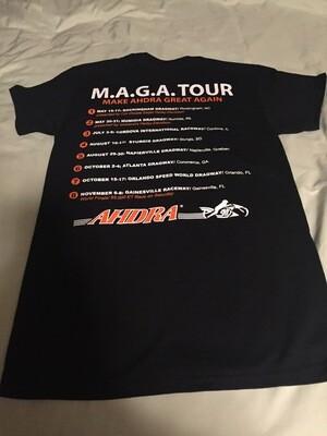 AHDRA T-Shirt 2020 w/ Schedule