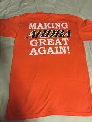 AHDRA Pocket T-Shirt Orange