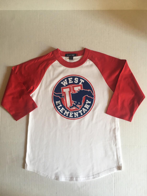 Baseball Shirt Youth LARGE