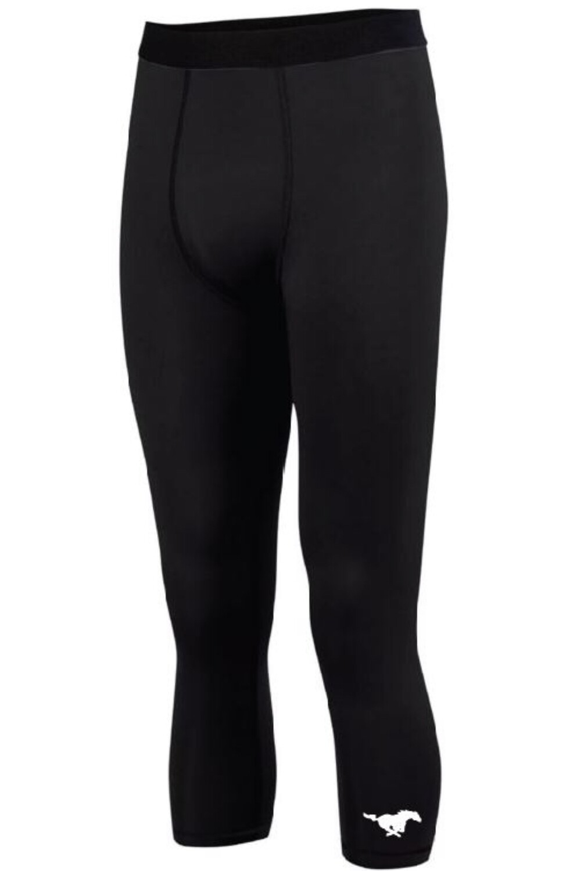 Boys black under leggings medium
