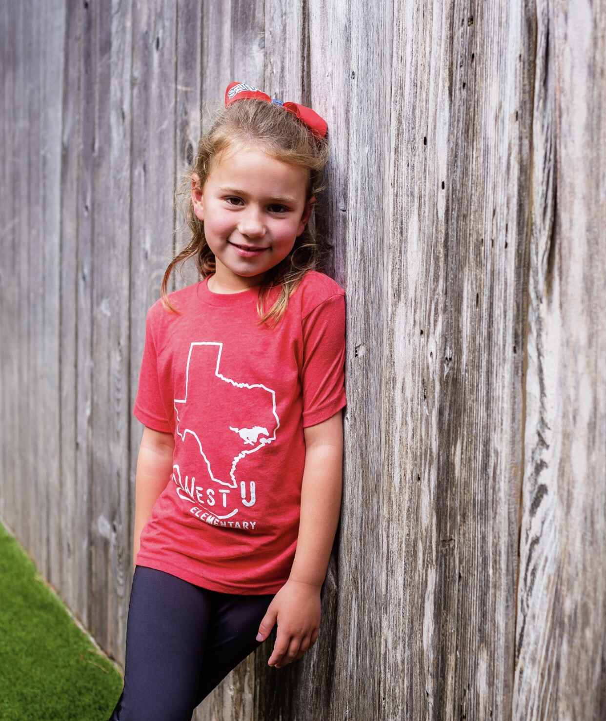 Youth Red Texas Home Triblend T - LARGE