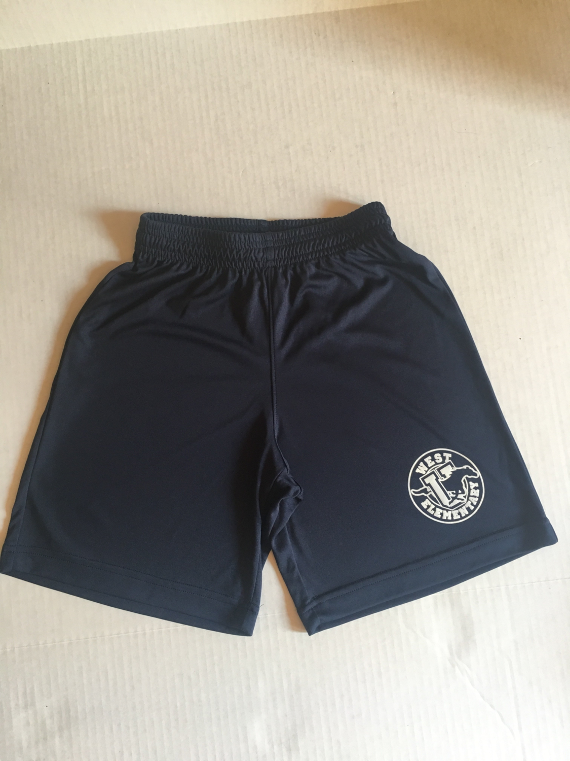 Boys Shorts - Navy LARGE