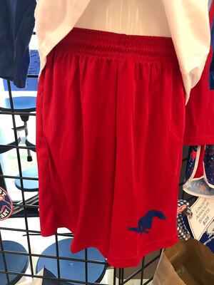 Boys Mustang Shorts Red - MEDIUM