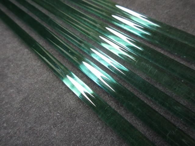 Northern Lights (UV Reactive Teal) Rod (SECONDS)