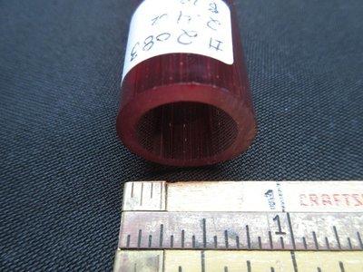 Pomegranate over Slyrm Double Layer Boro Tubing (#2083 2.4oz ODD)