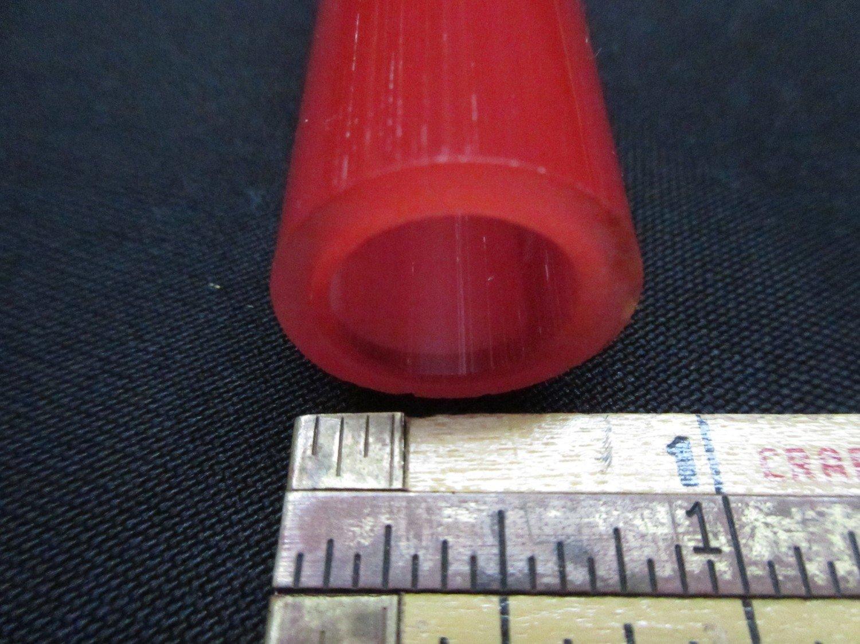 Pomegranate over Poppy Double Layer Boro Tubing (#4019 3.4oz ODD)