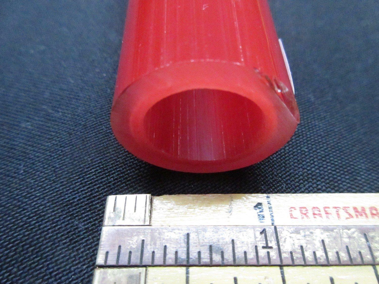 Pomegranate over Poppy Double Layer Boro Tubing (#2117 6.2oz  SECONDS)