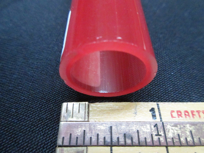Pomegranate over Poppy Double Layer Boro Tubing (#2124 1.3oz  SECONDS)