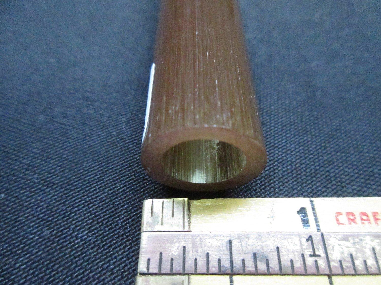BGS Experimental Brown Boro Tubing (#2505 3.3oz  SECONDS)