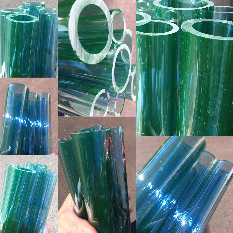 DayGlow (UV Reactive Blue) Boro Tubing