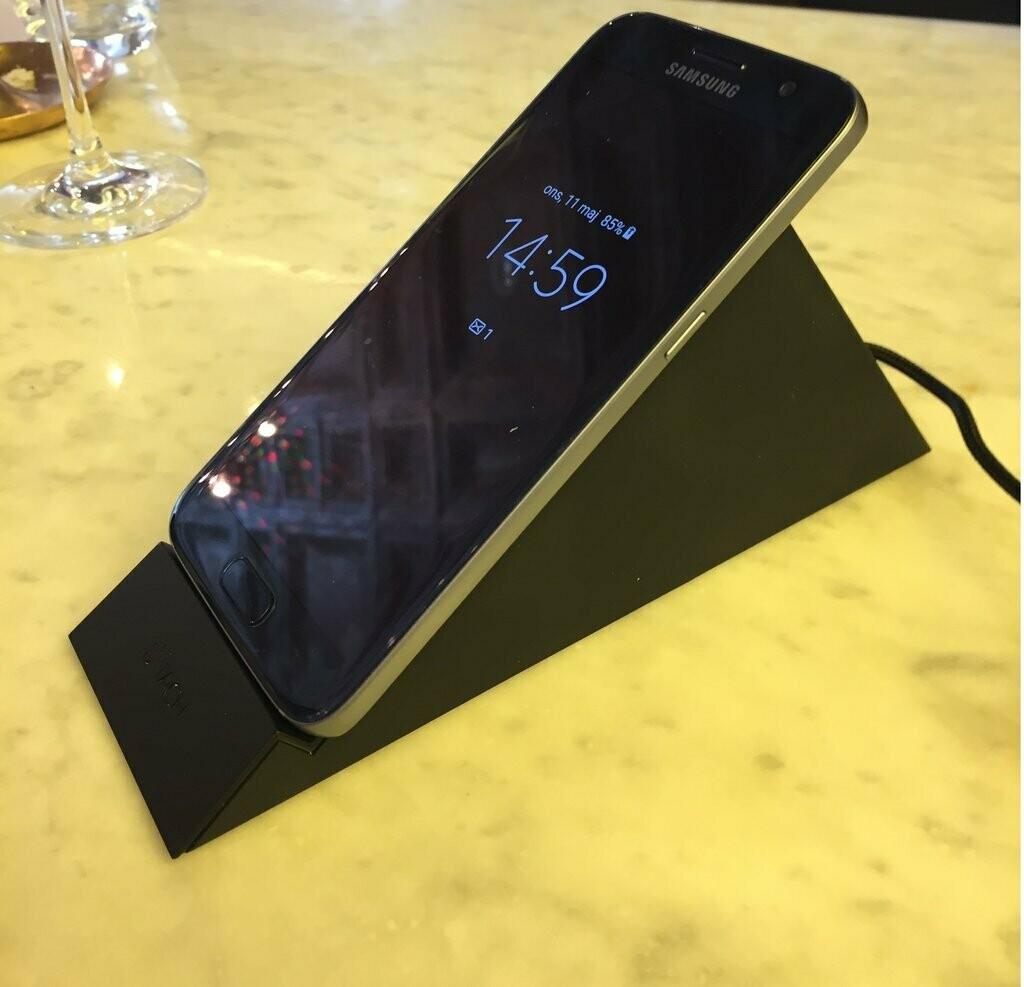 Stabil stående trådlös laddare för Samsung Galaxy S10 och andra modeller