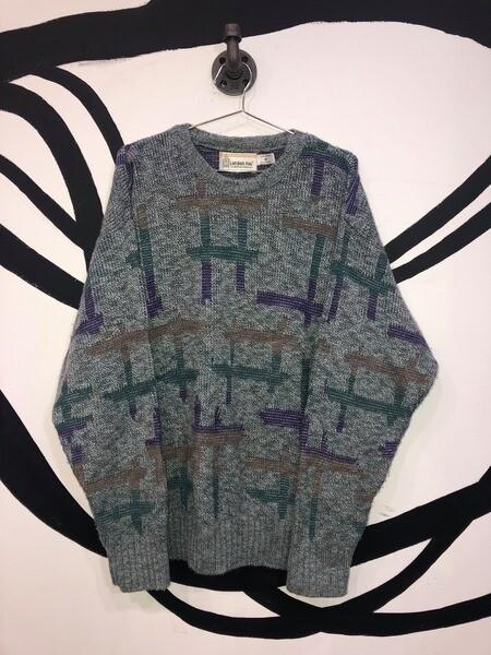 Unisex London Fog Knitted Sweater