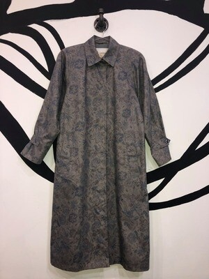 Women's London Fog Printed Trench