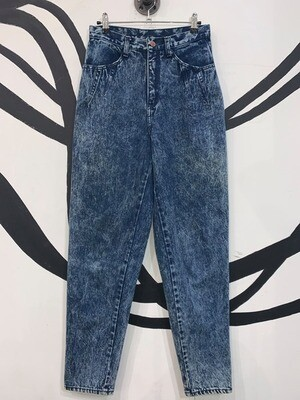 Women's Acid Wash High Waisted Jeans