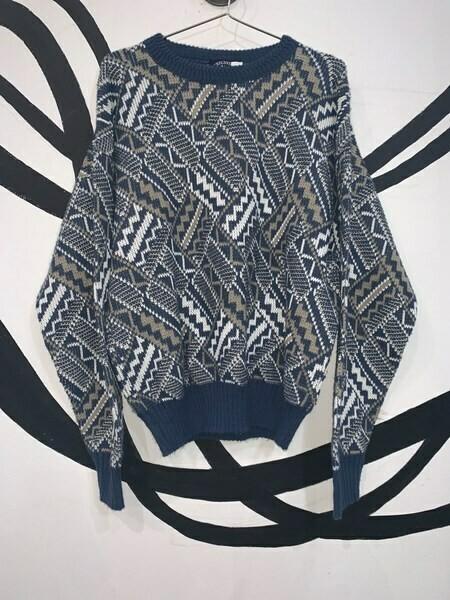 Unisex Printed Sweater