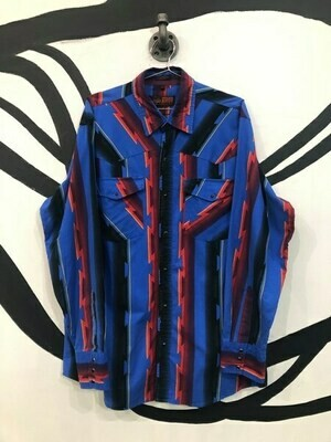 Men's Tribal Button Up Shirt
