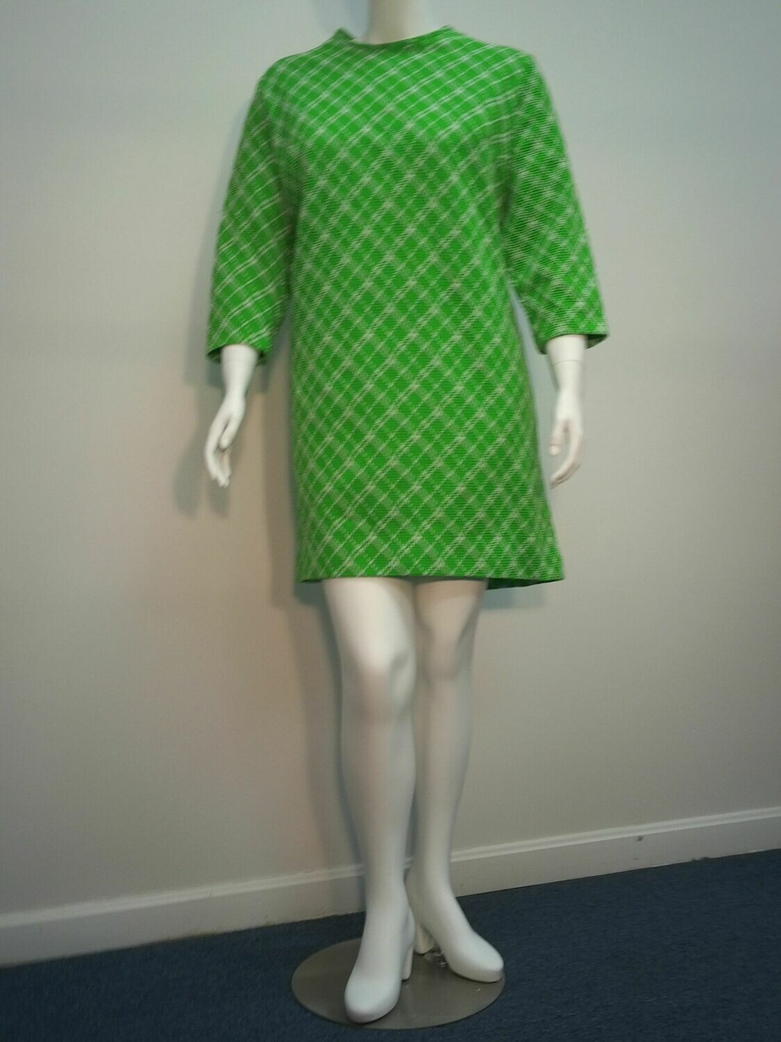 Flutterbye Green printed dress