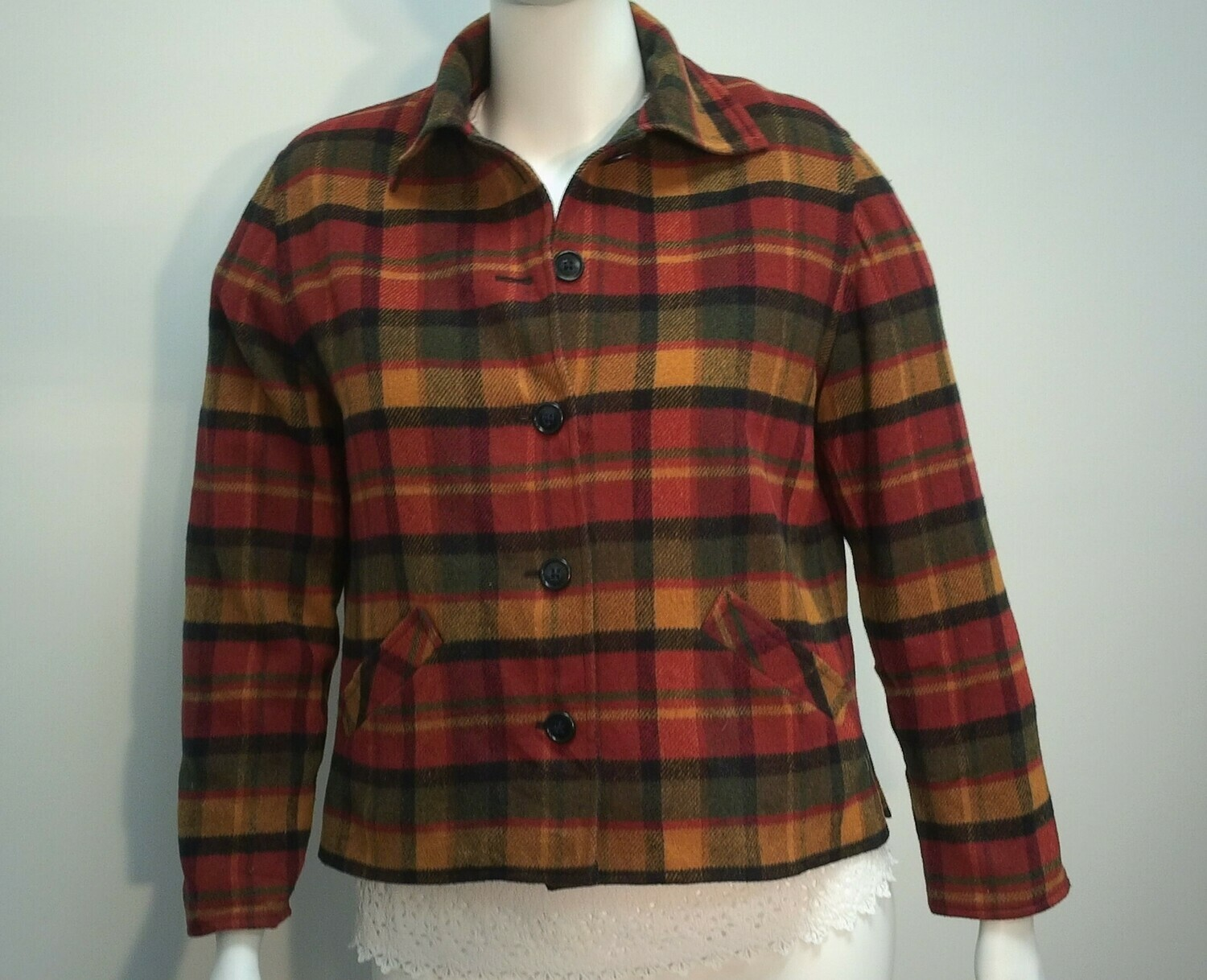 Plaid Jacket from Donny Brook