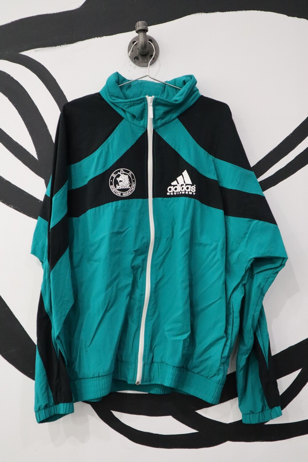 Adidas 1993 Boston Marathon Windbreaker