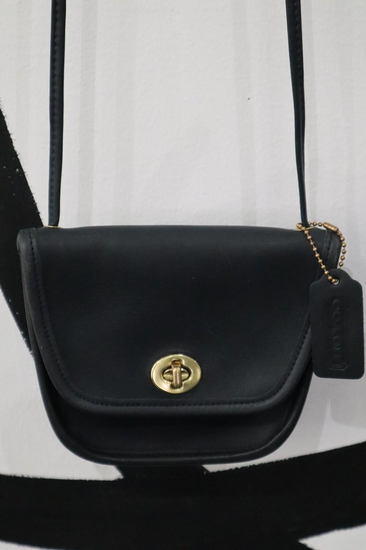 Authentic Leather Coach Bag