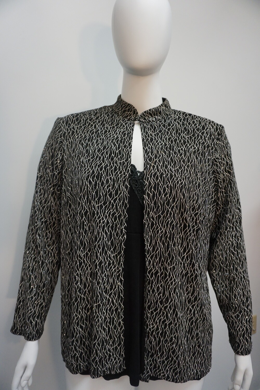 Sparkling Dress Coat