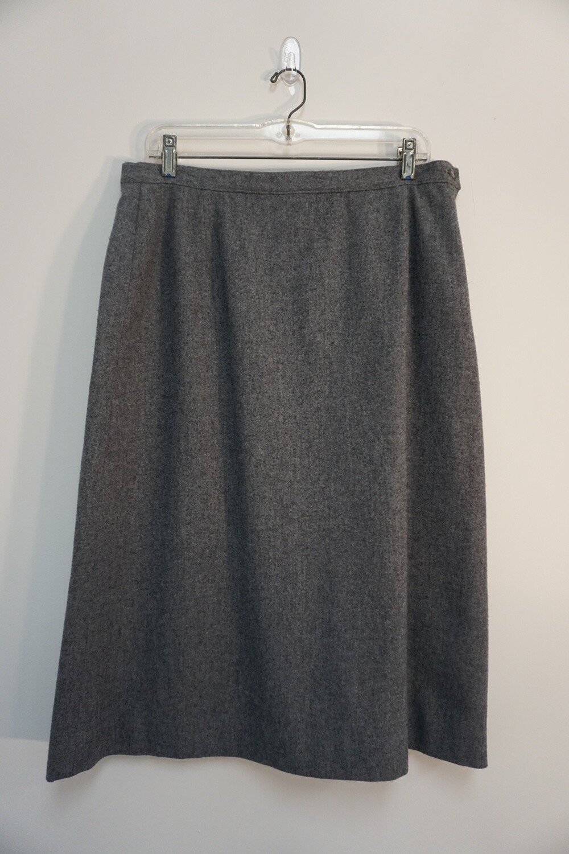 Gray Pendleton Skirt