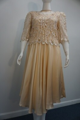 Rina Di Montella Silk Dress