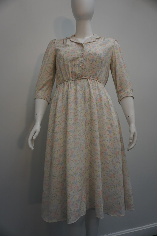 Stuart Allan Floral Print Dress
