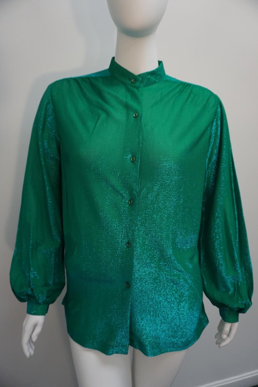 Sparkling Green Top