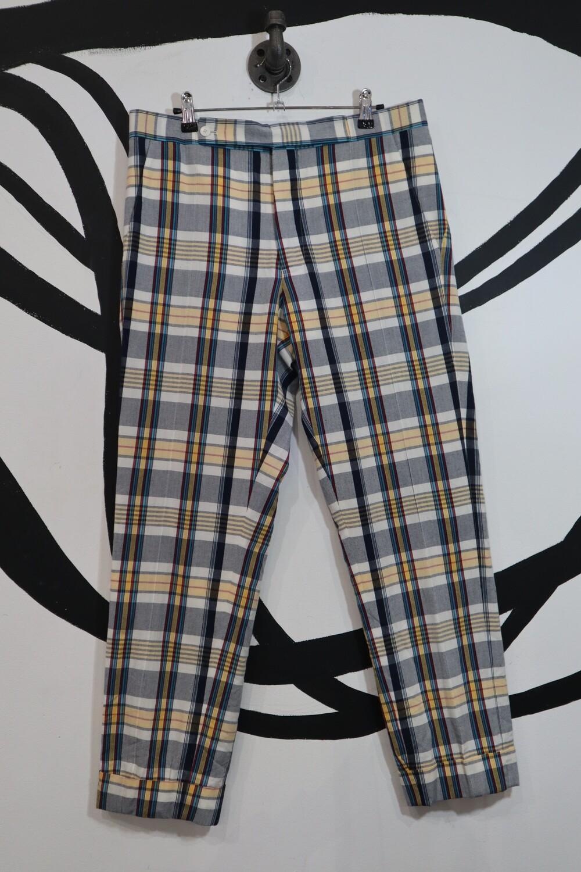 Plaid Pants - Mens Size 34 waist