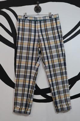 Plaid Pants - Mens Size 34 waist