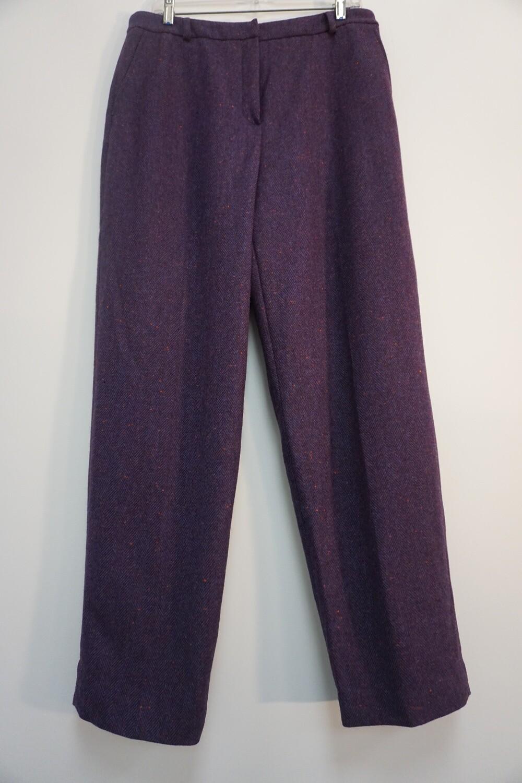 Dark Purple Talbots Dress Pants