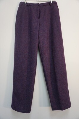 Dark Purple Talbots Dress Pants