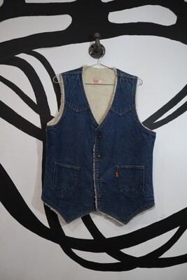 Levi's Shearling Lined Vest - Men's M