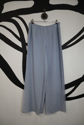 Light Blue Sheer Panel Pants - Size Medium