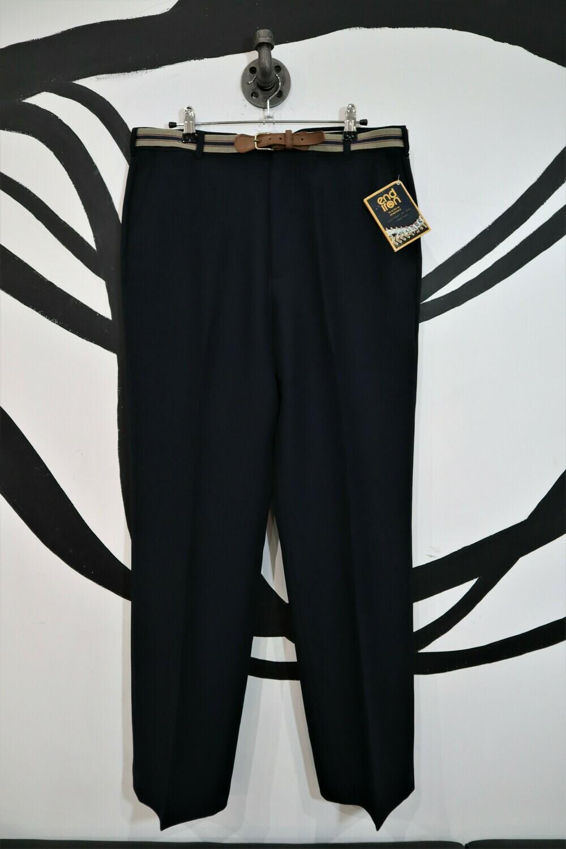 Vintage Slacks with Belt - Men's Size 34 x 32