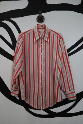 Lightweight Vertical Stripe Oxford - Men's Size M