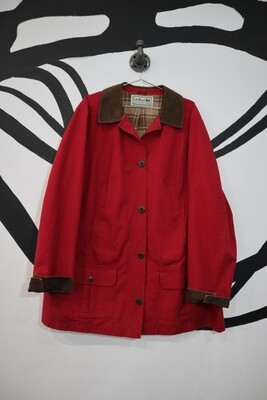 L.L. Bean Red Field Jacket - Women's L