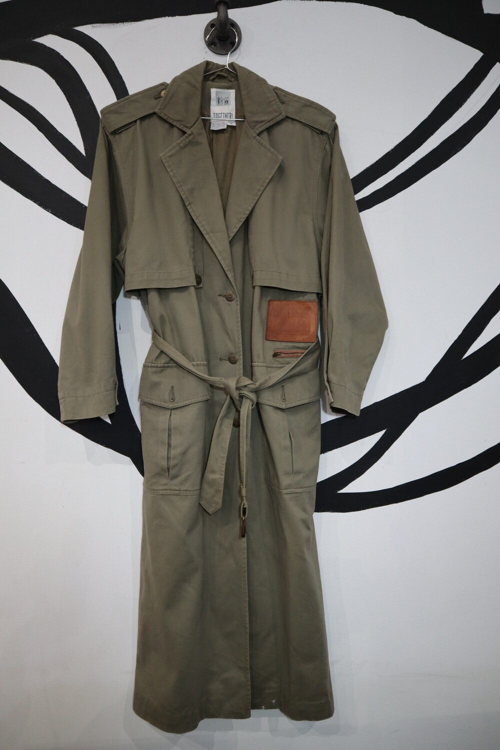 Together! Olive Trench - Women's 8