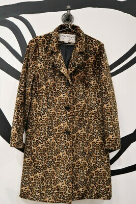 Cheetah Coat - Size L