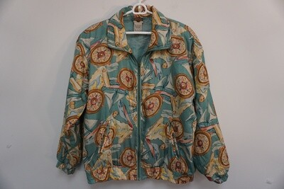 Out Brook 100% Silk Jacket
