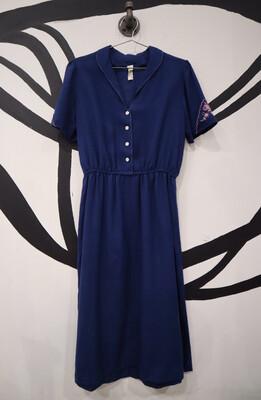 1950's Dress - Women's Medium