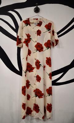 Rose Summer Dress - Women's Size Medium