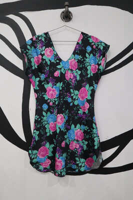 Floral Lingerie Dress- Small