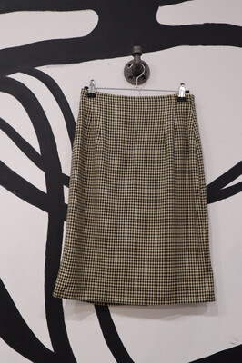 Gingham Skirt - Women's Size 6P