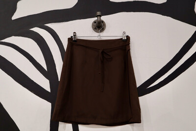 Chocolate Brown Mini Skirt - Women's Size Medium