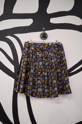 Pleated Mini Skirt - Women's Size 9/10