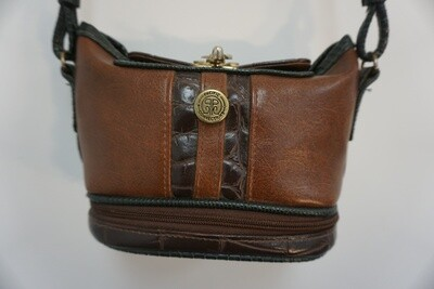 Small brown purse