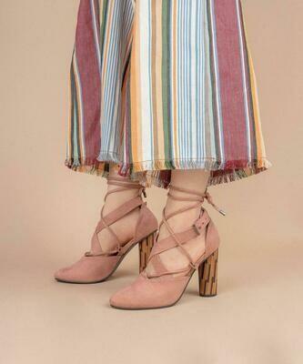 Pandora Retro Wrap Heel